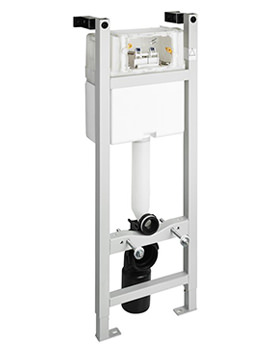 In-Wall 1100mm WC Frame With Cistern And Mechanical Front Operation