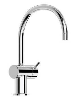 Jado Geometry Single Lever Kitchen Sink Mixer Tap With Round Neck