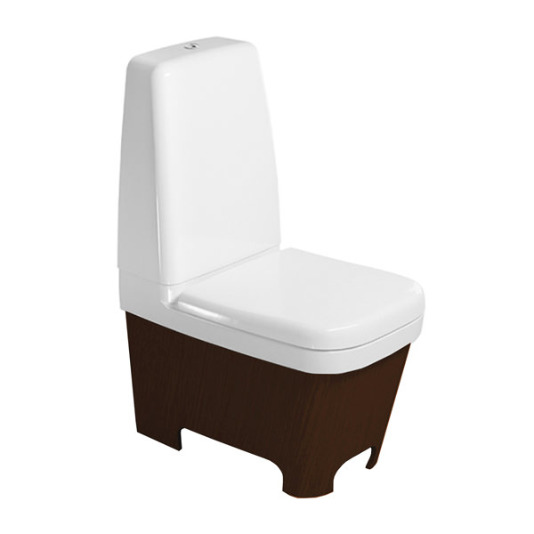 Esplanade close coupled toilet and cistern with seat and cover - Duravit esplanade ...