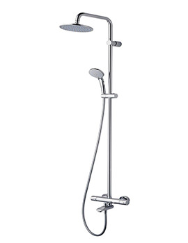 Related Ideal Standard Ceratherm 100 Thermostatic Exposed Bath Shower Pack