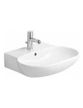Related Duravit Bathroom Foster 600 x 490mm Washbasin - 0419600000