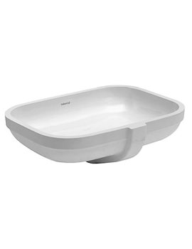 Happy D2 480 x 345mm Undercounter Basin - 0457480000