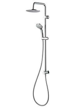 Idealrain Dual Rainshower M1 Rigid Riser Set