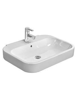 Duravit Happy D2 650 x 500mm Washbasin - 2316650000