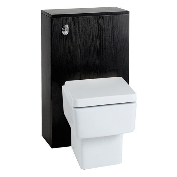 Large Image of Phoenix Zola Negro Back-To-Wall Unit With Concealed Cistern - BTWNEC
