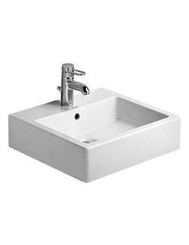 Related Duravit Vero White 500 x 470mm 1 Tap Hole Basin - 0454500000