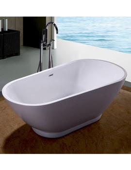 RAK Merida Easyflow Acrylic Free-Standing Bath 1700 x 820mm