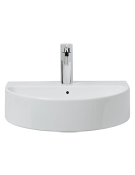 Celeste 1 Tap Hole 500mm Counter Top Or Wall Mount Basin