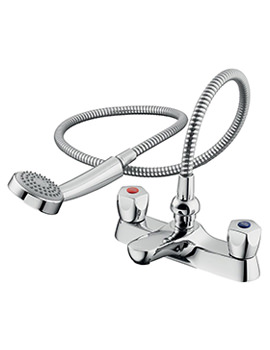 Sandringham 21 Bath Shower Mixer Tap With Shower Kit