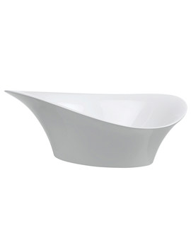 Alice 560mm Countertop Basin White - CT5637URW