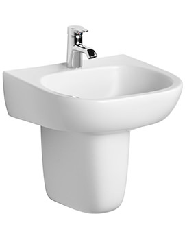 Image of Ideal Standard Jasper Morrison 500mm Basin With Semi Pedestal