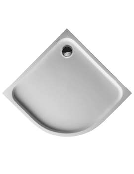 Duravit D-Code 900 x  900mm Quarter Circle Shower Tray