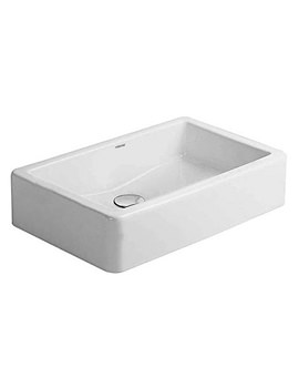Duravit Vero White 600 x 380mm Grinded Washbowl - 0455600000