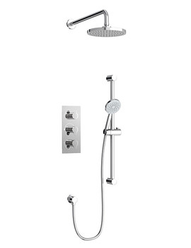 Related Britton Concealed Thermostatic Shower Valve With 3 Control And Kit
