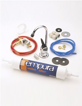 Empura 254mm Kitchen Tap With Water Filter Kit - E FILT10 C