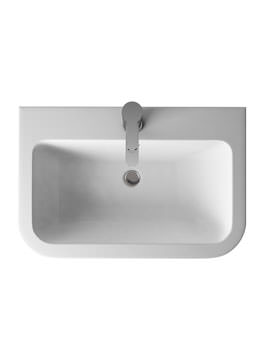 Britton Aqua Cabinets Compact 600mm Quattrocast Furniture Basin
