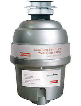 Turbo Plus TP-75 Continuous Feed Waste Disposal Unit