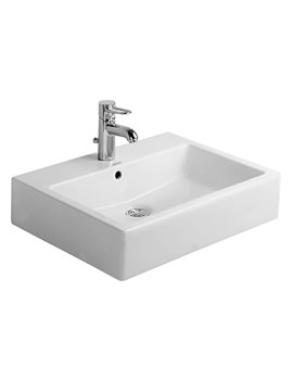 Vero White 500 x 470mm Grinded Counter Top Basin - 0452500000