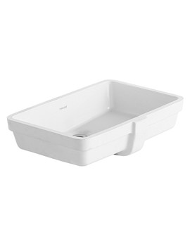 Vero White 485 x 315mm Vanity Basin - 0330480000