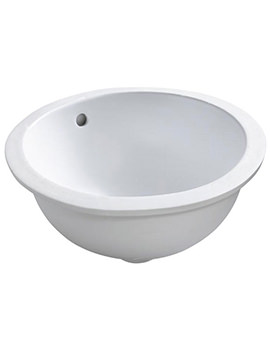 Cherwell 420mm Under Countertop Washbasin