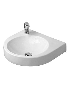 Architec 575 x 520mm Left Hand Tap Hole Basin