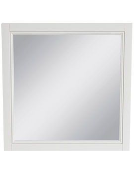 Caversham White Ash 640mm Furniture Mirror - KWA44