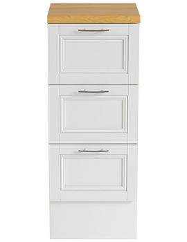 Caversham White Ash 320mm Furniture Drawer Unit