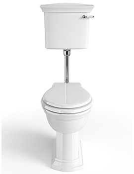Blenheim Low-Level WC And Cistern With Flush Pack 720mm