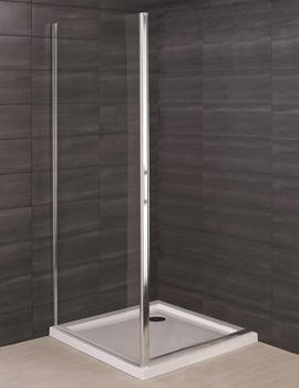 RAK Deluxe 8 Side Panel For Shower Enclosure 900mm - RAK8SP900