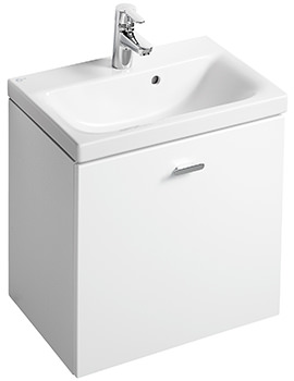 Ideal Standard Concept Space 500mm Wall Hung Basin Unit White Gloss