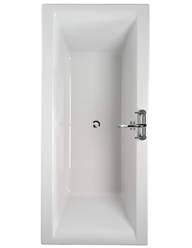 Indulgence Double Ended Acrylic Bath 1800x800mm -ID8600WH