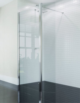 April Identiti2 Wetroom 760mm x 1950mm - AP9402S