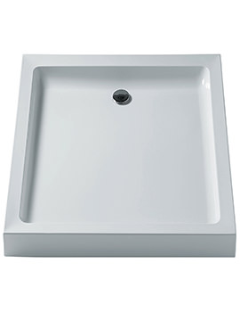 Simplicity 760mm Low Profile Square Upstand Shower Tray