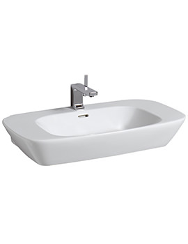 Related Twyford Vello Washbasin 800mm - VO4741WH