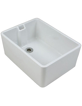 Belfast 475 x 390 x 215mm Kitchen Sink - FC1211WH