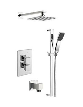 Dance Thermostatic 2 Way Diverter Valve And Shower Set