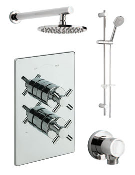 Erin Concealed 2 Way Diverter Valve With Shower Set-82092A