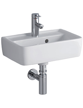 Galerie Plan Wall Fixing Washbasin 500 x 380mm - GL4811WH