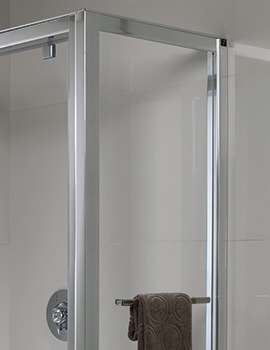 Twyford Geo6 Shower Enclosure Side Panel 900mm - G65500CP