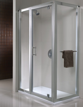 Twyford Geo6 180 Pivot Shower Enclosure Door 800mm - G64600CP
