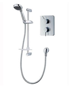 Unichrome Thames Dual Control Mixer Shower - UNTHDCMX