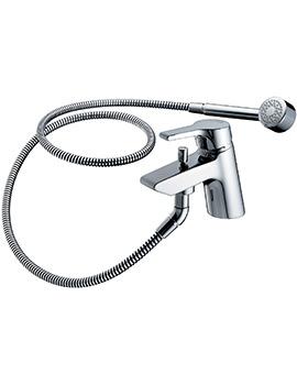 Active 1 Hole Bath Shower Mixer Tap With Shower Set