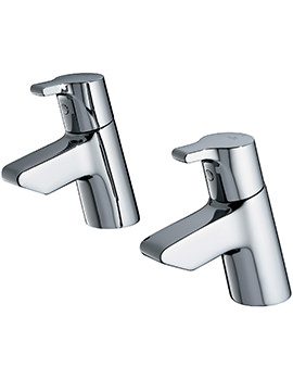 Active Pair Of Bath Pillar Taps - B8076AA