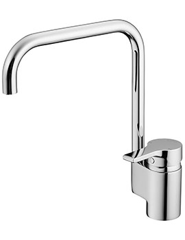 Active Sink Mixer Tap With High Spout
