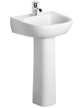 Jasper Morrison 500mm Basin With Full Pedestal