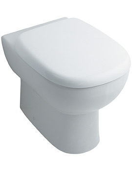 Jasper Morrison 545mm Back-To-Wall WC Pan