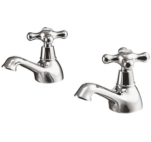 Large Image of Ideal Standard Kingston Pair Of Basin Taps - E6045AA