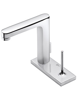 Related Ideal Standard SimplyU 2 Hole Rectangular Spout Basin Mixer Tap