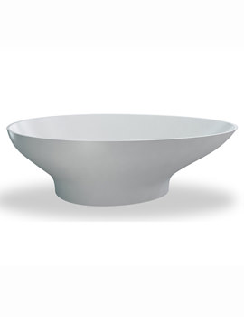 Clearwater Teardrop Freestanding Large Modern Oval Bath 1910 x 820mm