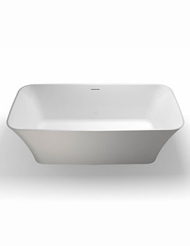 Clearwater Palermo Piccolo Natural Stone Freestanding Bath 1600mm